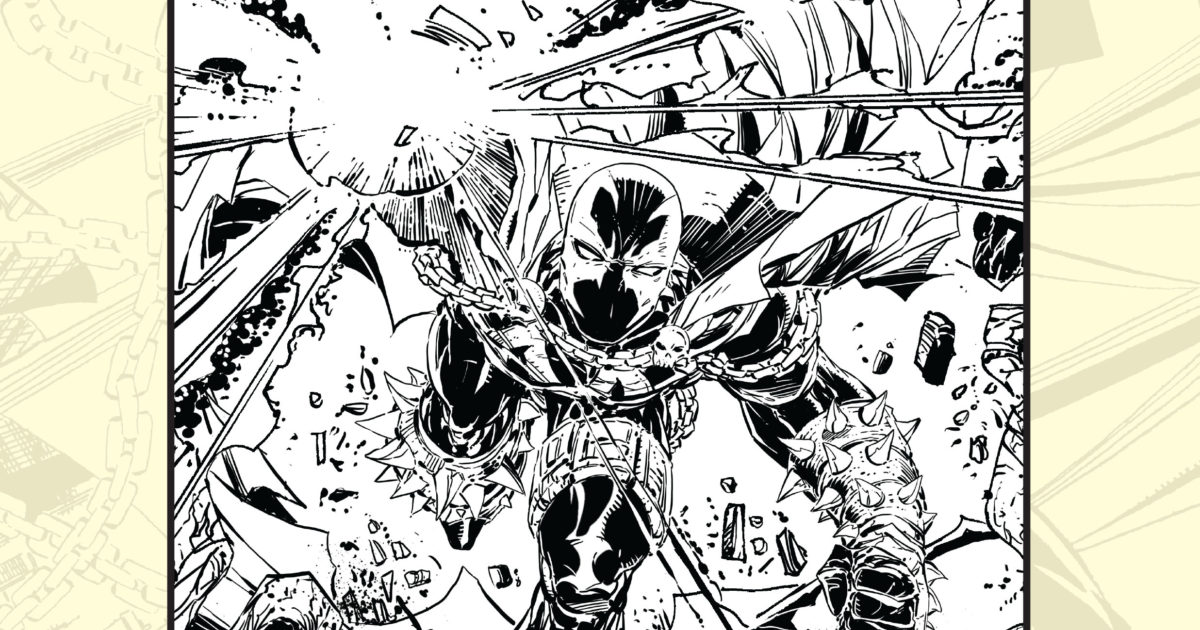Be Part Of The Legacy With Spawn Coloring Book Image Comics