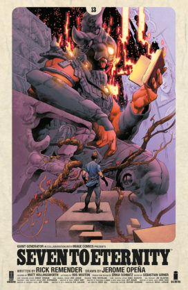 Seven to Eternity #10 Variant Edition  Image Comics CB18518